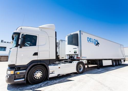 Flota de Camiones SCANIA de DELGO Transportes